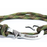Multicam Fish Hook Bracelet (New)