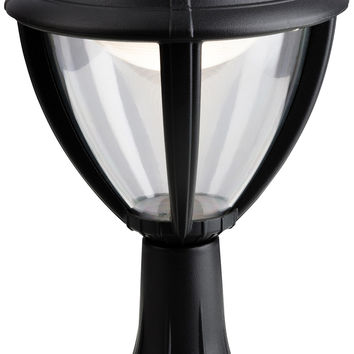 Firstlight 3402BK Unite LED Mounted Pillar Lantern