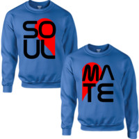 SOUL & MATE COUPLE SWEATSHIRT