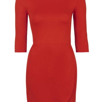 High Neck Wrap Jersey Dress - New In This Week - New In