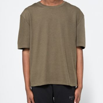 Halo / Drop Tee in Army