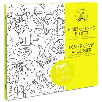 OMY Dinosaurs Giant Coloring Poster | Nordstrom