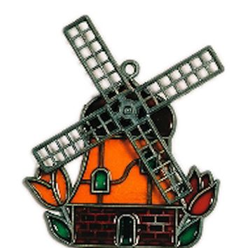 Holland Windmill Sun Catcher Novelty Magnet