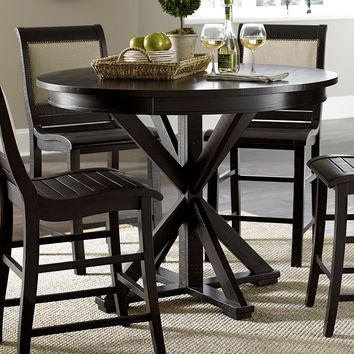 Progressive Furniture Willow Round Counter Height Dining Table   www.hayneedle.com