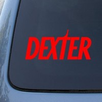 DEXTER TV SHOW - Vinyl Car Decal Sticker #A1594 | Vinyl Color: Red
