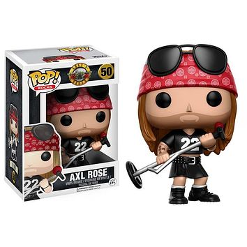 Funko Toys Guns n Roses Axl Rose Pop Rocks Vinyl Figure
