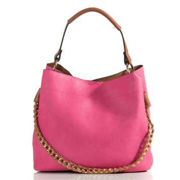 Pink Hill Jen and Co. Women's Leather Wrapped Purse