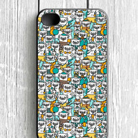 Pug Pattern iPhone 4S Case
