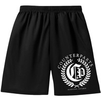Counterparts Men's  Olive Branch Gym Shorts Black