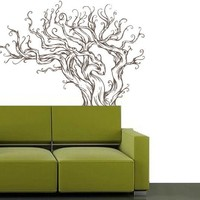 Drift Wood Inspired Tree Decal  Vinyl wall art by 3rdAveShore