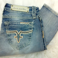 ROCK REVIVAL JACKLYN SKINNY JEANS