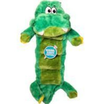 Petstages - Invincible Squeaker Palz Gator Matz Dog Toy