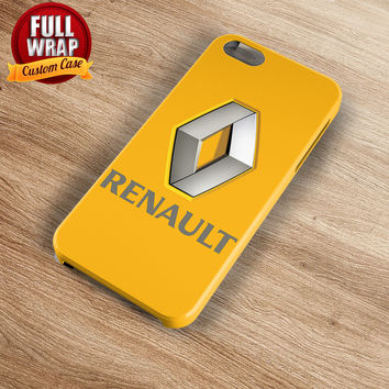 Renault Automobile Car Logo Full Wrap Phone Case For iPhone, iPod, Samsung, Sony, HTC, Nexus, LG, and Blackberry