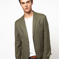 ASOS Slim Fit Blazer at asos.com