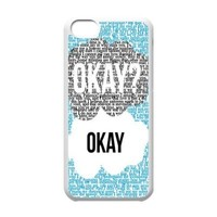 Custom The Fault in Our Stars Cover Case for iPhone 5C W5C-631