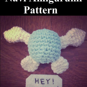 Navi Amigurumi Pattern (Plushie/Plush Toy) from the Legend of Zelda