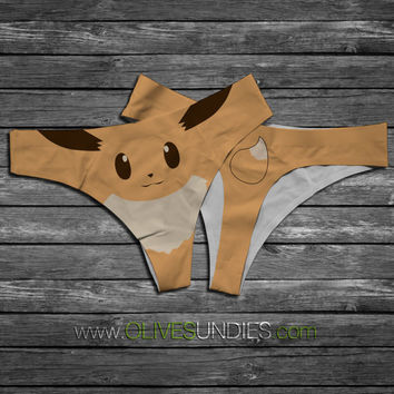Eevee Pokemon Panties