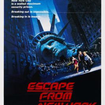 Escape From New York Movie Poster 11x17 Mini Poster