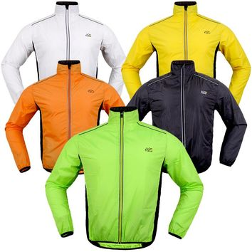 2017 Hot Sale Men Bicycle Cycling Jersey  Long Sleeve Cycling Jackets  Maillot Ciclismo Breathable Windproof  Wind Coat Raincoat