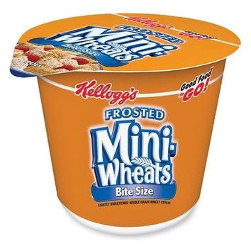 Keebler Cereal-In-A-Cup, 2.5 oz., 6-PK, Frosted Mini Wheats - CASE OF 3