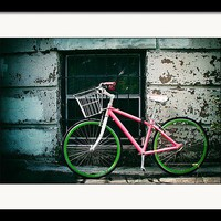 Urban Ride Framed Print