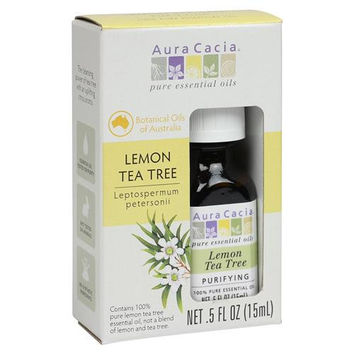 Aura Cacia Essential Oil - Pure - Lemon Tea Tree - .5 Fl Oz  15% Off Auto renew