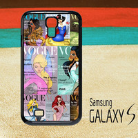 Beautiful Princesses Cover Samsung Galaxy S2 S3 S4 Cases