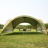 Summer outdoor super large camping tent canopy tent awning advertising tents