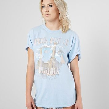 Dirty Cotton Scoundrels Pink Floyd Band T-Shirt - Women's T-Shirts in Light Blue | Buckle
