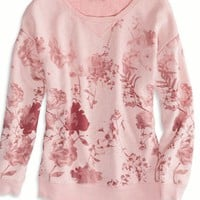 AEO Women's Printed Sweatshirt