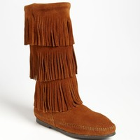 Women's Minnetonka 3-Layer Fringe Boot