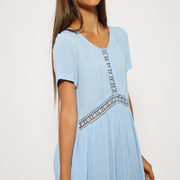 Rosalie Dress - Blue
