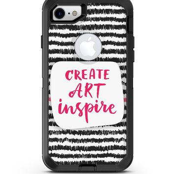 Create Art Inspire - iPhone 7 or 8 OtterBox Case & Skin Kits