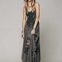 BIYA  Darya Mesh Embroidered Maxi at Free People Clothing Boutique