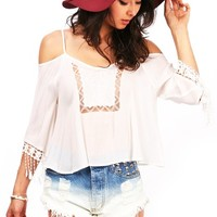 Swing Lullaby Blouse | Trendy Tops at Pink Ice