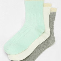 Kimchi Blue Pastel Ruffle Crew Sock - Urban Outfitters