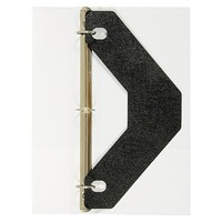 Avery Triangle Shaped Sheet Lifter for Three - Ring Binder - Black (2/Pack)