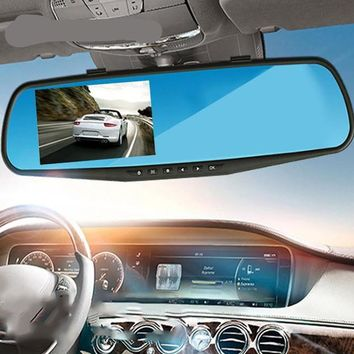 Rearview Mirror Car DVR Camera