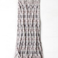 AEO DOUBLE SLIT MAXI SKIRT