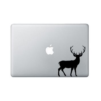 Buck Laptop Decal - Deer Macbook decal - Hunting Laptop Sticker