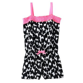 Jumping Beans Print Ruffle Romper - Toddler
