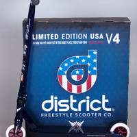 District Uncle Sam Limited Edition Integrated Pro Scooter