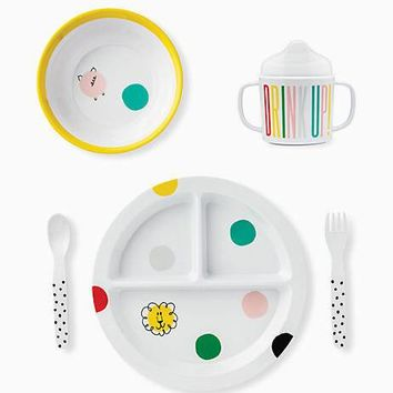hey baby melamine dining set
