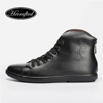 Men Fashion Winter Shoes He Crafted Handmade Men Snow Boots