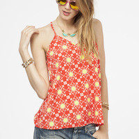 Endless Summer Top - Red/Multi