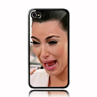 Kim kardashian  ugly crying face   iPhone 4 4s by NadiyaHomemade