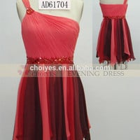 AD61704 custom made Lovely One-Shoulder short masquerade party dresses 2015 made in China, View custom made party dresses, CHOIYES Product Details from Chaozhou Choiyes Evening Dress Co., Ltd. on Alibaba.com