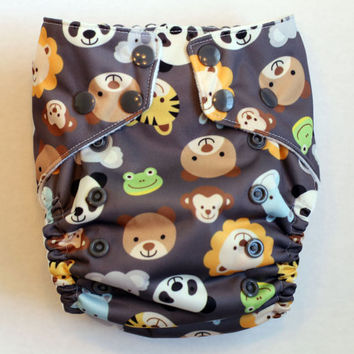 Cloth Diaper - NB/Small Cloth Diaper fits from 7-15+lbs, One Size AI2 Cloth Diaper fits from 9-35+lbs