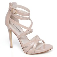 ShoeMint Vega Women's Strappy High Heels