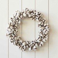 Cotton Pod Wreath